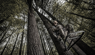 There's a more comfortable way to hunt from above, and Millennium Treestands has proven it!