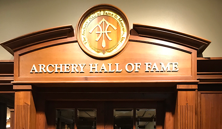 The newest members of the Archery Hall of Fame are Dick Mauch, Owen Jeffery, Terry Ragsdale and Michelle Ragsdale.