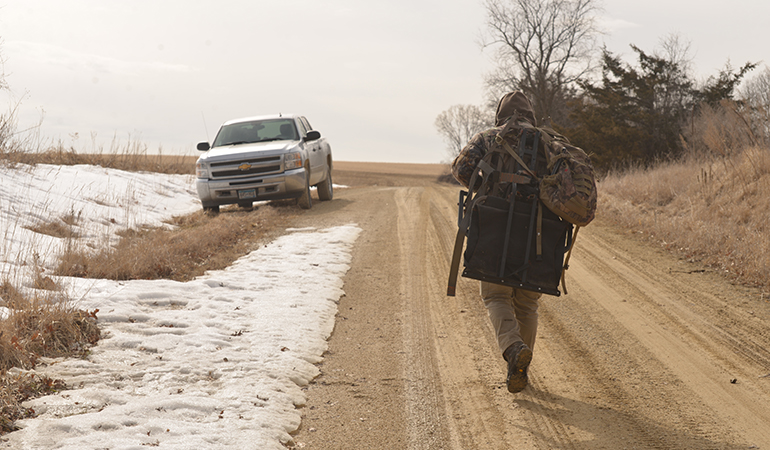 Footwear & Clothing For Winter Whitetail Work