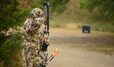 Bowhunting is a game of inches, but target practice should be a game of increasing yardage.