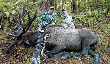 Bowhunting Roosevelt's elk is a serious challenge, which makes success so very sweet.