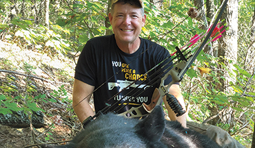 A Georgia bear hunt proves you can get the job done with a light bow and a well-placed arrow.