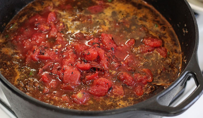 spicy 5 alarm venison chili recipe simmer