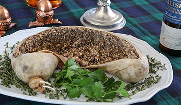 As intimidating as this Venison Haggis Recipe may look, it's a joy to eat.