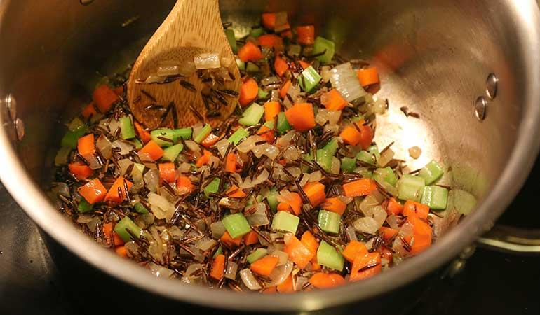 Wild Rice and Turkey Carcass Soup Recipe