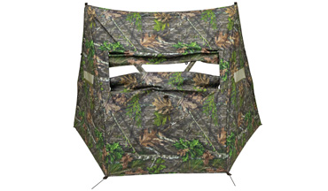 An ideal hideout for hunters on the go, the aptly named Dash sets up quickly easily.
