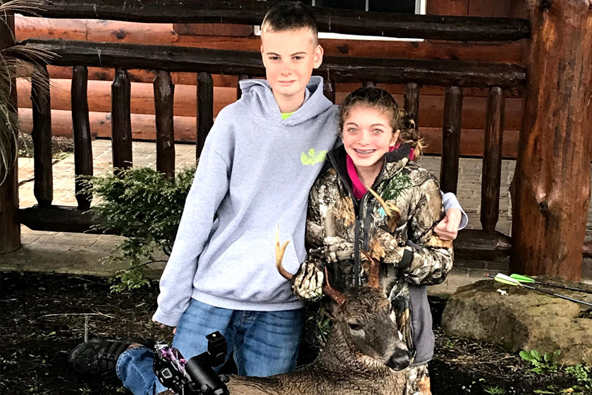 The non-profit program hosts crossbow hunts for children with disabilities and special needs.