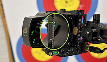 The Oracle represents a new take on the idea of rangefinding bow sights.
