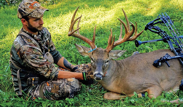 Clint Casper with 2016 archery buck