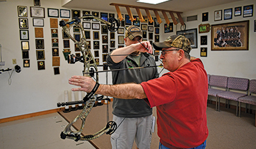 There is only one way to tune your bow properly, and that is with you shooting it.