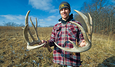 The best place to start hunting a buck is where you found his sheds earlier in the year.