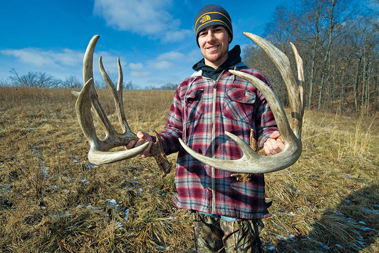 The Secrets Shed Antlers Tell About Whitetails