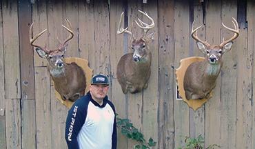 An Ohio bowhunter didn't let a major medical setback keep him from the field.