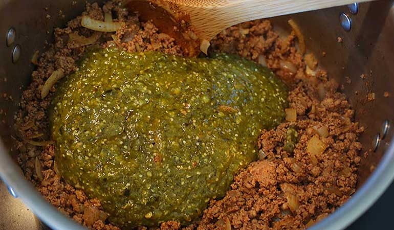 Wild Turkey and Tomatillo Chili Recipe