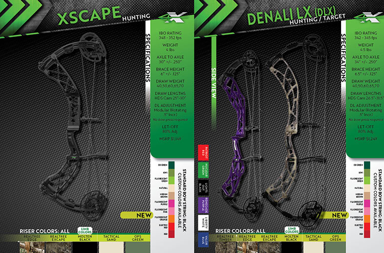 Xpedition Xscape and Denali specs