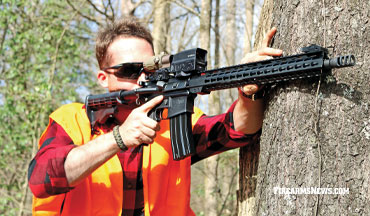 The ATI Milsport 450 Bushmaster rifle is an economical and powerful Information Age hunting firearm.
