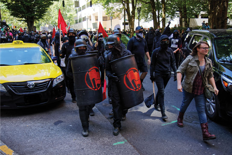 ANTIFA Take Over a Portion of Seattle, Including a Police St