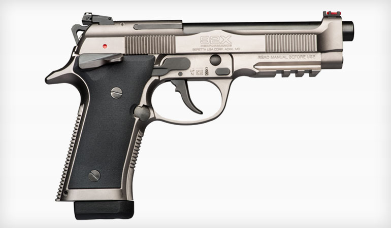 Beretta 92X Performance Unveiled