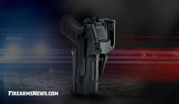 The New Blackhawk Level 2 Duty Light Bearing Holster is compatible with the Glock 17.