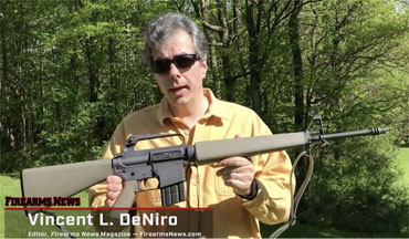 Firearms News editor Vincent L. DeNiro took the Brownells Model BRN-601 AR-15 to the range for a test drive.