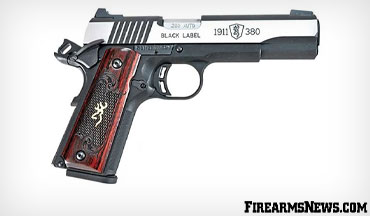 Browning combines the popular .380 ACP cartridge with a handy scaled-down 1911 making a compact and easy to carry pistol for self-protection or fun!