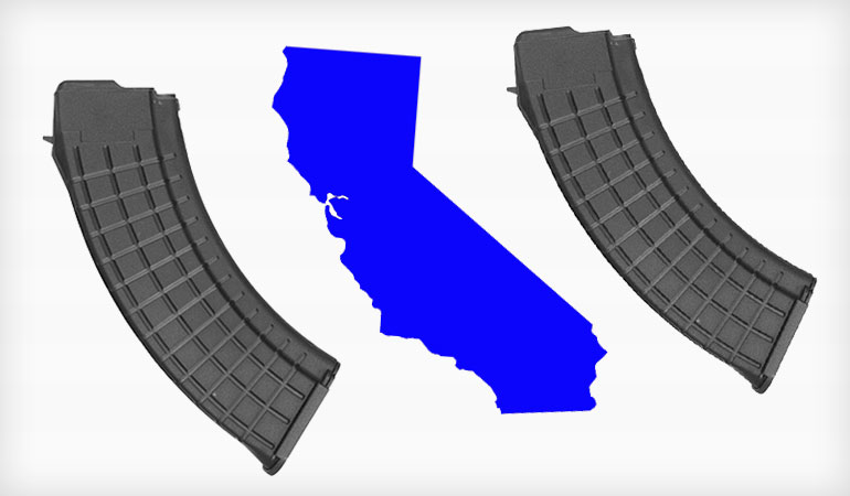 CA High Capacity Magazine Ban Ruled Unconstitutional