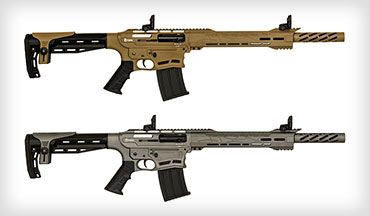 Two new Cerakote models have been added to the Citadel Boss 25 Semi Auto 12 ga. Shotgun lineup, FDE – (Flat Dark Earth) and Tactical Grey.