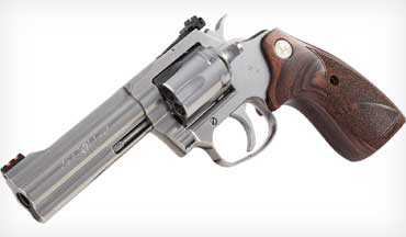 Colt announces the release of the much-anticipated Colt King Cobra Target revolver.