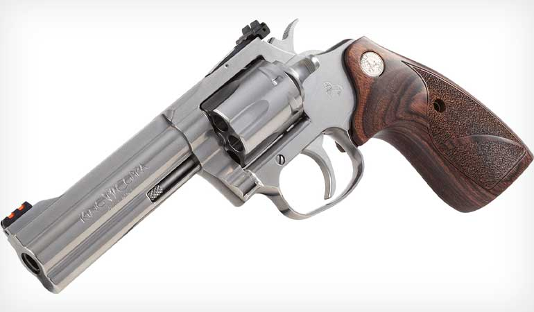 Colt Announces King Cobra Target Revolver
