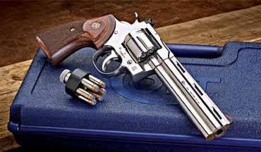 The Colt Python is back, and badder than ever! Mostly.