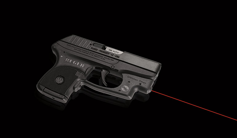 Crimson Trace Provides Laser Sights for Ruger Pistols