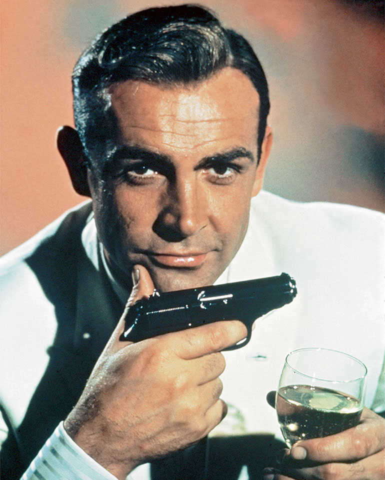 Pistols of James Bond