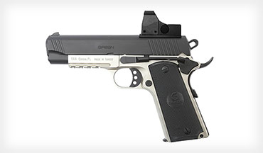 EAA's new Commander-sized 1911-style pistols have features, options, and performance similar to the more expensive versions, with money to spare for accessories or ammo.