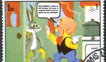 You will no longer see Elmer Fudd out hunting with his trusty old shotgun in future cartoons.