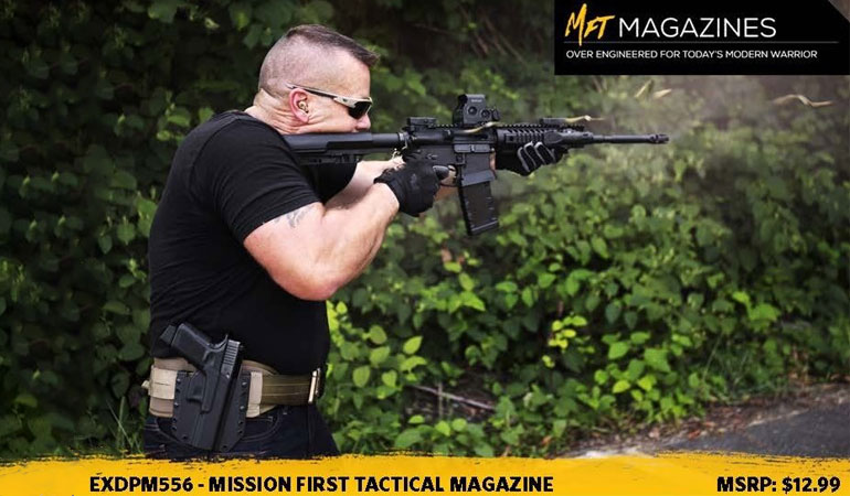 The EXDPM556 magazines are the latest addition to the MFT Magzine line-up. Over engineered for today's modern warrior.