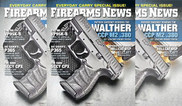 Firearms News August 2020, #15 is on sale now! Every Day Carry special issue!