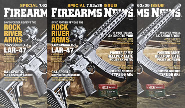 Firearms News August 2020, #16 is on sale now! 7.62x39 Special Issue!