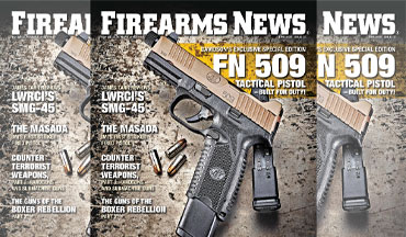 Pick up a copy at your local magazine stand, Walmart, Barnes & Noble, or major book retailer. Firearms News prints two exciting issues per month so be sure to get both copies or subscribe!!