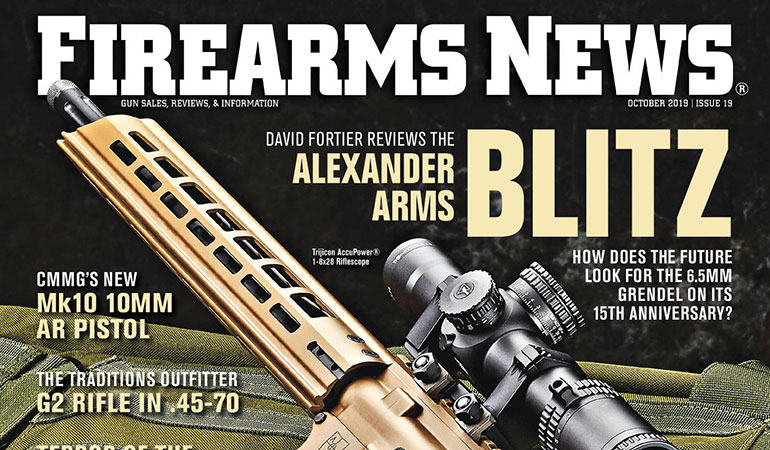 Firearms News October 2019 – Issue #19