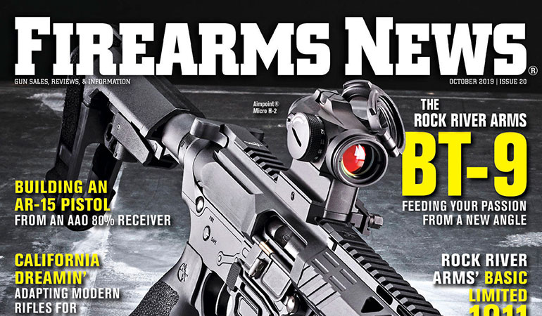 Firearms News October 2019 – Issue #20