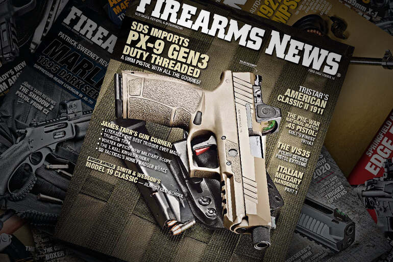 Firearms News Magazine Current Issue Cover