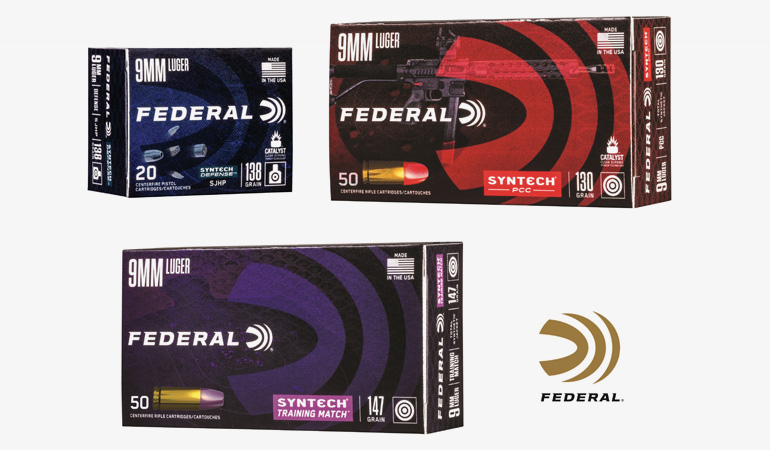 Federal Launches New Syntech Ammunition Options