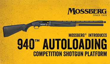 Designed in conjunction with champion speed shooter Jerry Miculek, the new Mossberg 940 is a feature-rich shotgun built with the competitive shooter in mind.