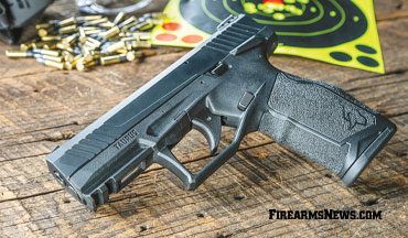 The Taurus TX22 ain't your grandaddy's .22 pistol!