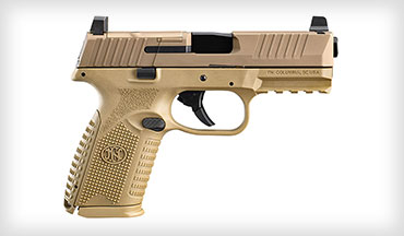 FN America, LLC announced the availability of the FN 509 Midsize MRD in flat dark earth (FDE), now the latest in the optics-ready FN 509 line-up to be offered in FN's signature color.