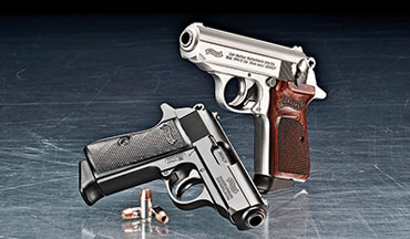 The Walther PPK/S has a very ergonomic grip, is comfortable to shoot, and accurate.
