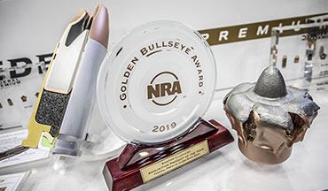 The NRA's Shooting Illustrated magazine recently honored Federal Premium Hydra-Shok Deep with its Golden Bullseye Award for 2019 Ammunition Product of the Year.