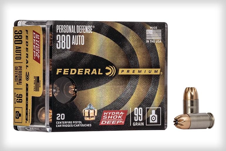 New from Federal Premium is the Hydra-Shok Deep .380 Auto! This is the first expanding load in this caliber to consistently penetrate beyond the FBI-recommended 12-inch minimum in both bare gel and heavy clothing.