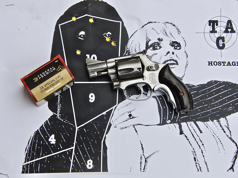 Five-Shot Snub Nose Revolver