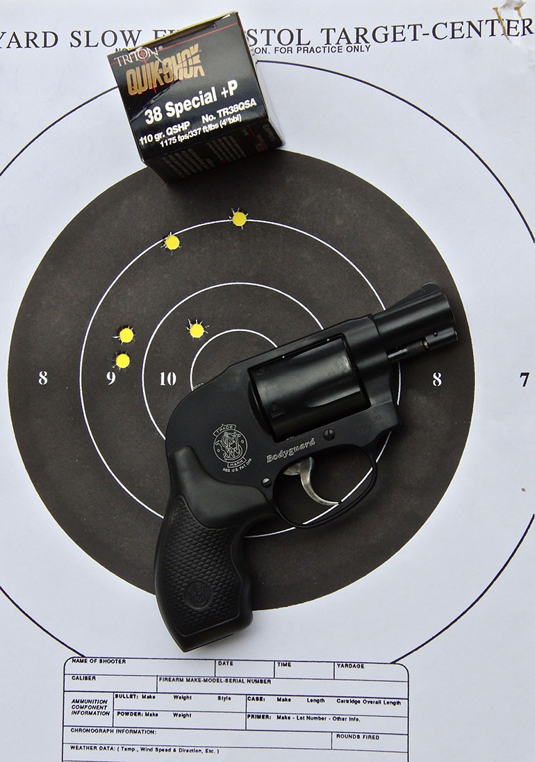 Five-Shot Snub Nose Revolvers